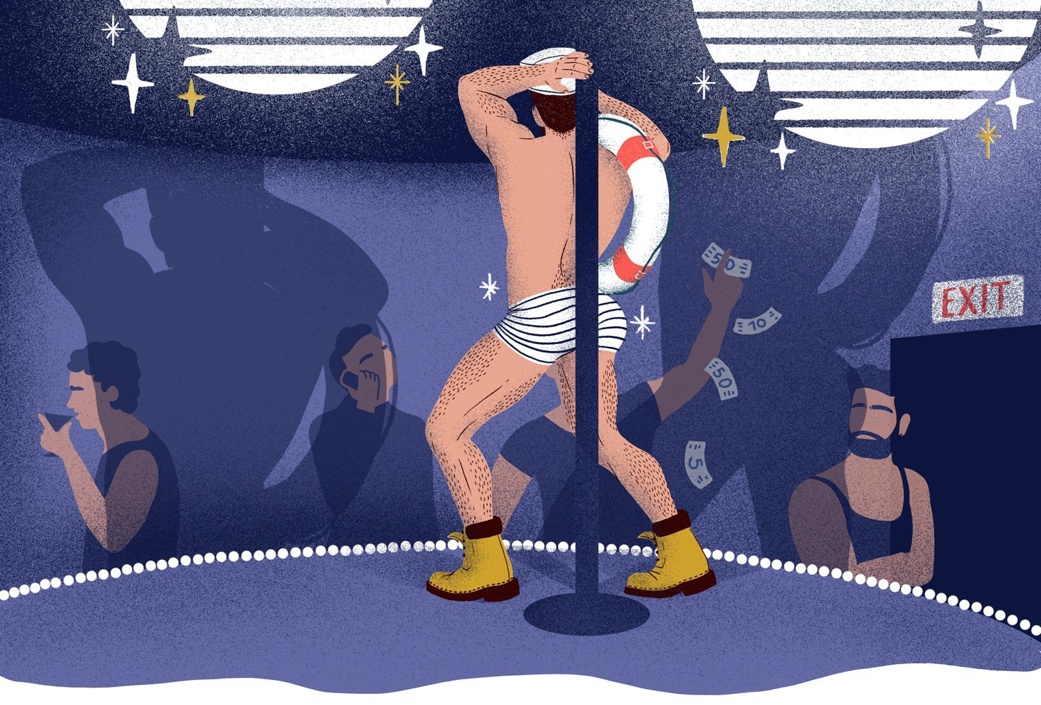 i was a (straight) male stripper at gay clubs—hopes&fears
