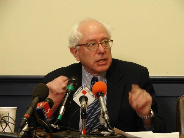 Bernie Sanders, via Wikipedia.. Image 1.
