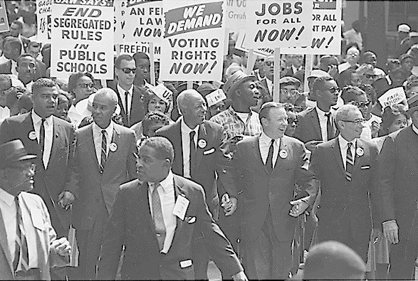 1963 March on Washington. Image: Wikipedia . Image 4.