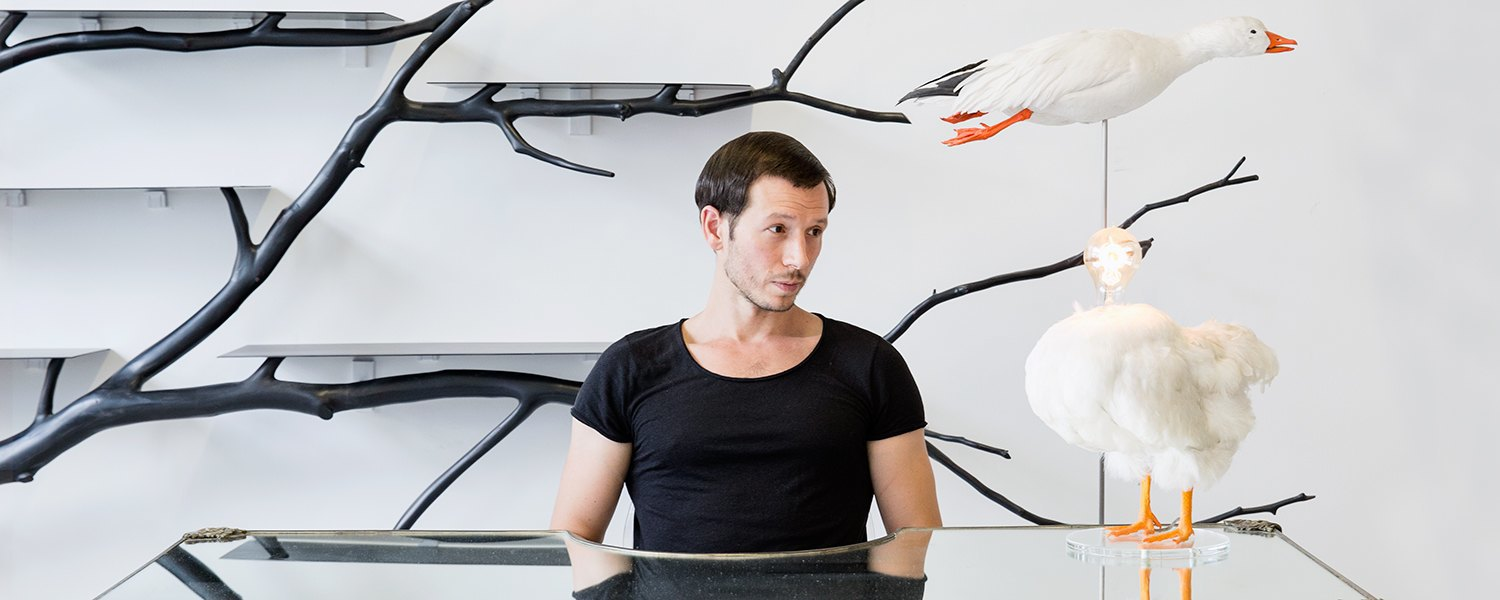 Sebastian ErraZuriz wants to liberate your soul. Image 1.