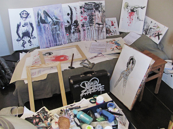 Grunge art by Lora Zombie. Изображение №5.