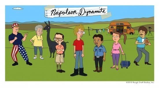 Первый взгляд: Мультсериал «Наполеон Динамит» — Новости на Look At Me