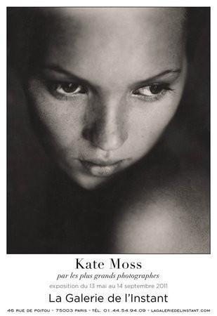 В Париже откроется выставка, посвященная Кейт Мосс