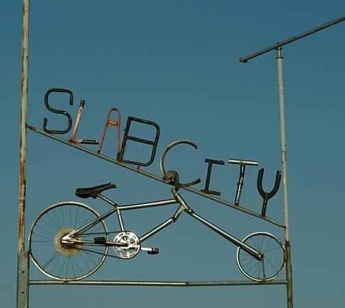 Slab-city, город Бога, город Свободы — Искусство на Look At Me
