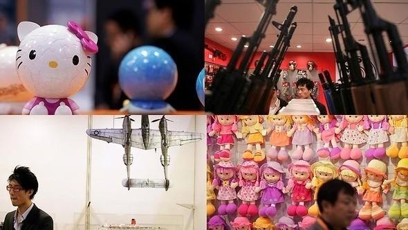 Выставка-ярмарка игрушек в Гонконге — Игры на Look At Me