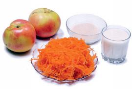 Морковно-яблочные оладьи :) — Завтраки на Look At Me
