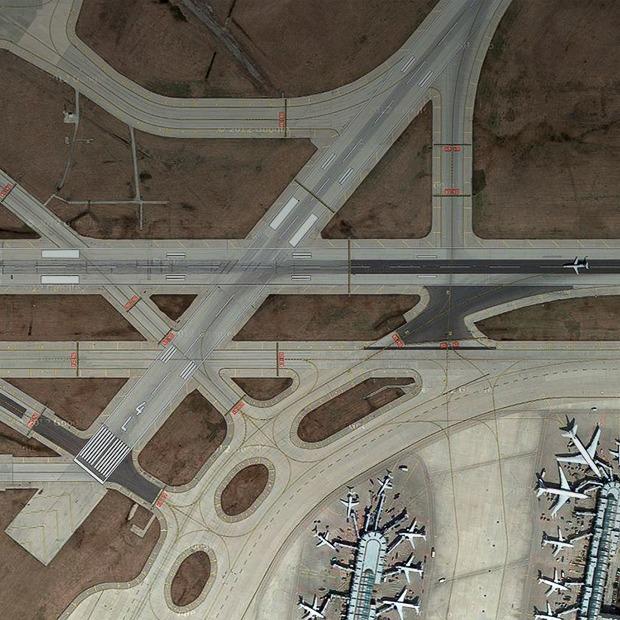 Завораживающий вид на аэропорты с высоты птичьего полёта — Репортаж на Look At Me
