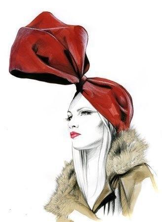 Акварельные иллюстрации Caroline Andrieu — Иллюстрация на Look At Me