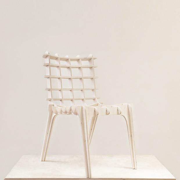 Как сделать красивый стул почти самому