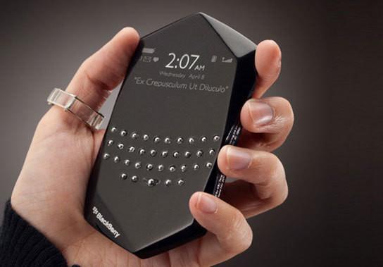 Концепт телефона Blackberry Empathy — Наука и Технологии на Look At Me
