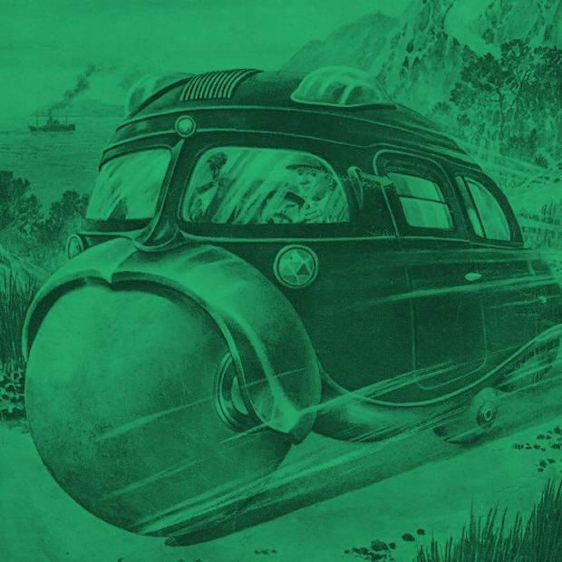 Транспорт будущего:  5 странных идей  из Японии 30-х — Будущее на Look At Me