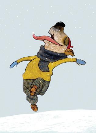 Милые открытки Вольфа Эрлбруха — Иллюстрация на Look At Me