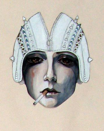 Fashion-иллюстрационация от Anne Sofie Madsen — Иллюстрация на Look At Me