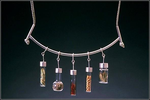 Spice series: ювелирные украшения со специями от художницы Сары Худ (Sarah Hood) — Дизайн на Look At Me