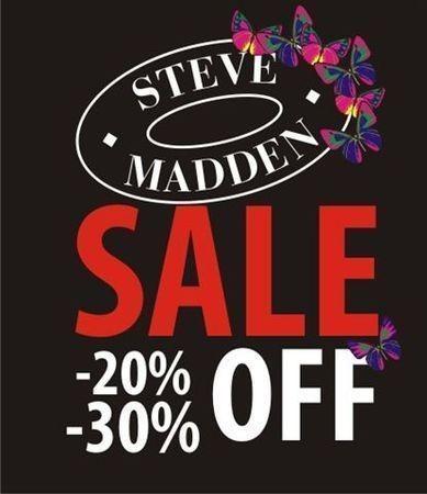 В Steve Madden началась летняя распродажа — Промо на Look At Me