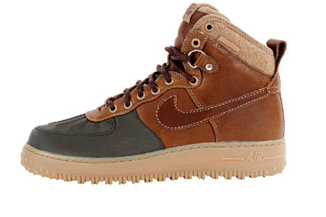 Nike Air Force 1 Duck Boot союз двух легенд