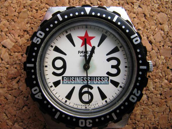 Легендарные часы «Ракета» возвращаются — Мода на Look At Me
