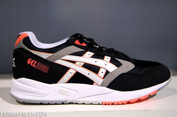 ASICS GEL SAGA 'INFRARED' — Сникер-культура на Look At Me