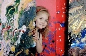Четырехлетняя художница получила мировое признание