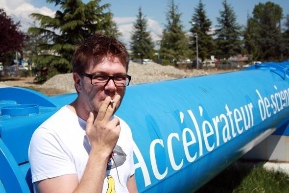 Наши на коллайдере — Интервью на Look At Me