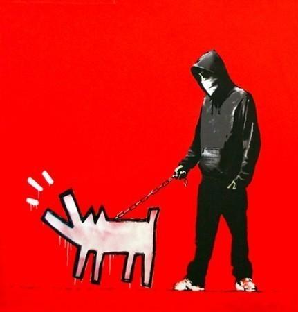 Артистическая солидарность: Бэнкси поддержал задержанных активистов группы «Война» — Дизайн на Look At Me