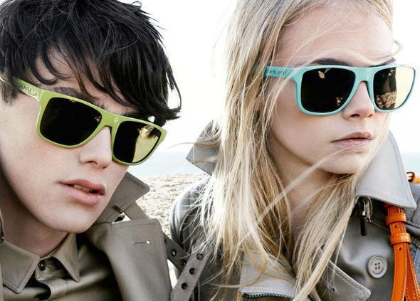 2 новые кампании : Burberry & iCB — Мода на Look At Me