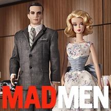 Куклы Барби по сериалу Mad Men — Новости на Look At Me