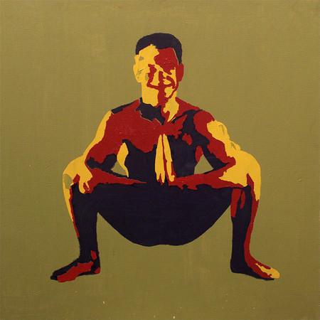 Йога на холстах — Искусство на Look At Me