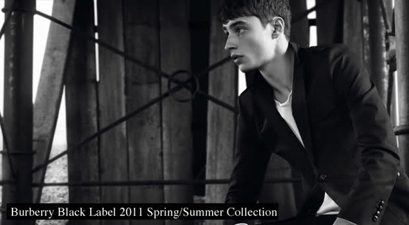 Burberry Black Label Spring/Summer 2011 — Мода на Look At Me