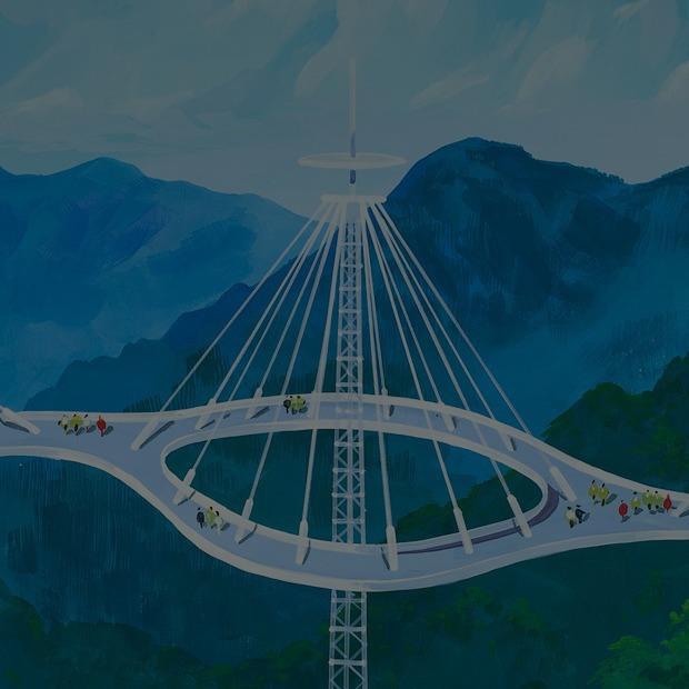 Какой видят архитектуру будущего  в Северной Корее  — Будущее на Look At Me