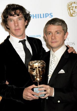Актеры «Шерлока» и «Отбросов» награждены британской киноакадемией — Кино на Look At Me