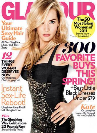 Kate Winslet для журнала Glamour April 2011 — Журналы на Look At Me