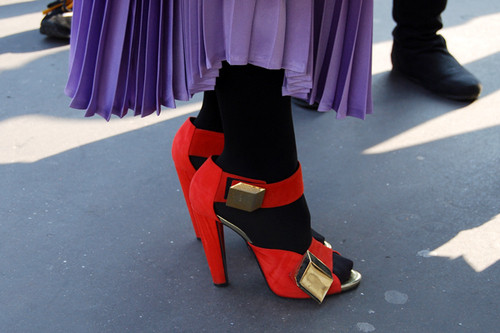 Обувь: тренды лета 2011