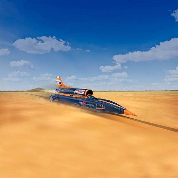 Как выглядит самый быстрый автомобиль  в мире