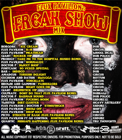 Circus Presents Flux Pavilion's Freak Show mix — Музыка на Look At Me