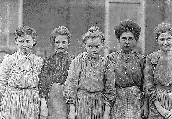 Эксплуатации детского труда в Америке (1910 год).И эмигранты США — Промо на Look At Me