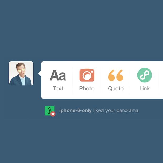10 незаметных интерфейсных решений компании Tumblr — Детали на Look At Me