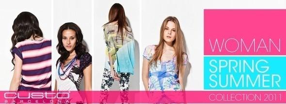 Custo Barcelona - коллекция весна-лето 2011 — Мода на Look At Me