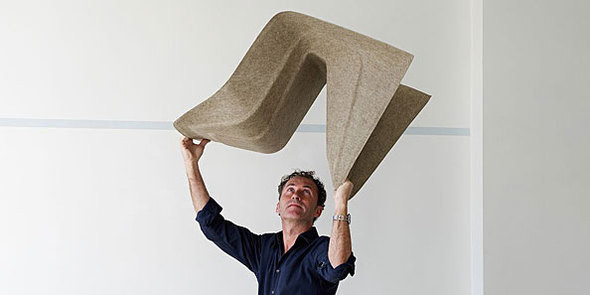 Мебель из конопли от Werner Aisslinger