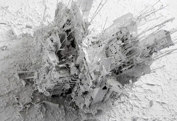 Мировые катастрофы в 3D-картинах Джерри Джуда — Искусство на Look At Me
