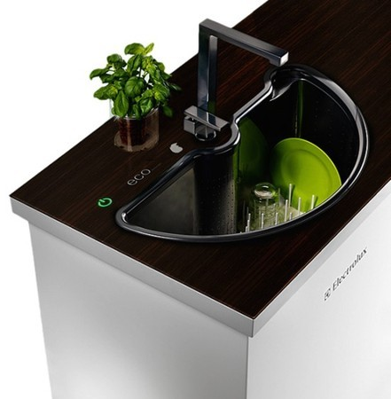 Экологическая посудомоечная машина — Дизайн на Look At Me
