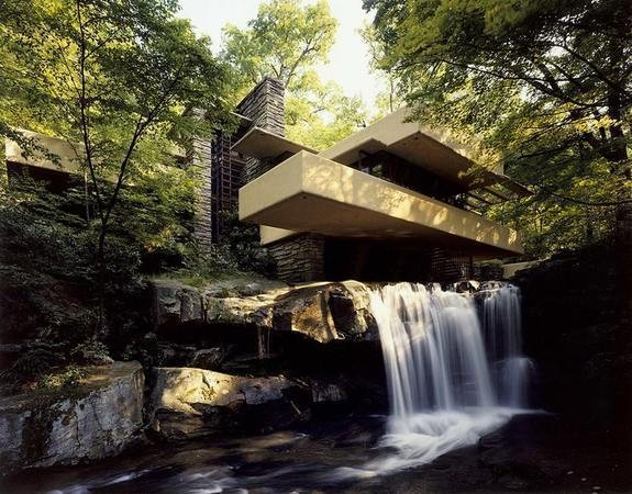 Fallingwater — Архитектура на Look At Me