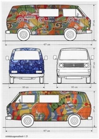 INTHEVAN-смотри,какой фургон! — Стрит-арт на Look At Me