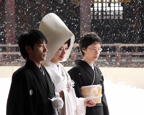 Свадебная церемония и романтическое путешествие в Японии — Искусство на Look At Me