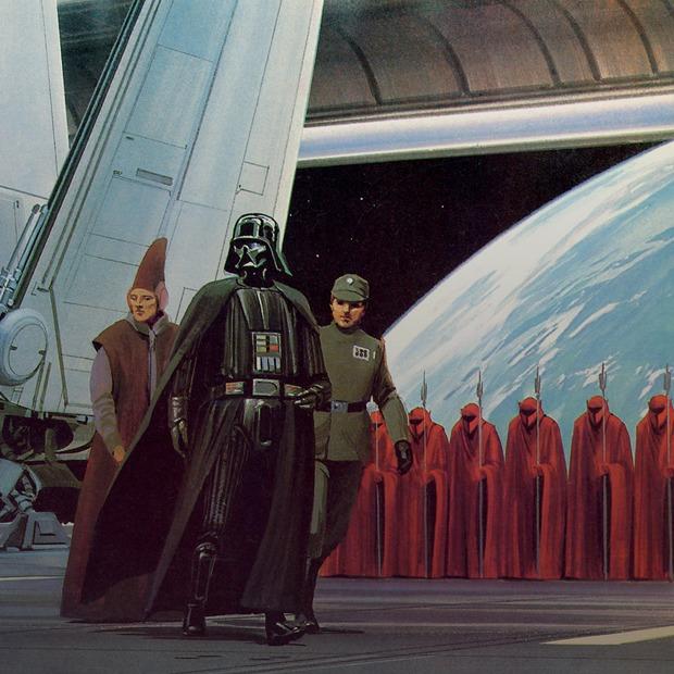 Кто нарисовал постеры к «Звёздным войнам»  и Вуди Аллену