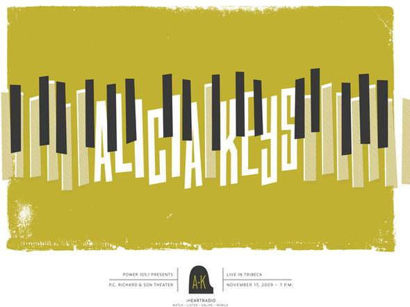 Концертные плакаты — Дизайн на Look At Me