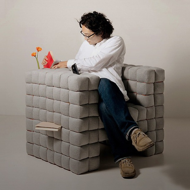 Объект желания: кресло, в котором можно хранить книги — Покупка на Look At Me