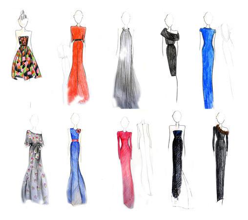 Александр Терехов выпускает капсульную коллекцию вечерних платьев — Промо на Look At Me