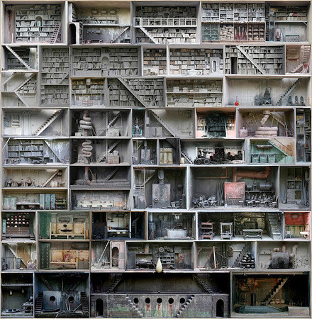 Марк Жье-Минье: The Boxes — Архитектура на Look At Me