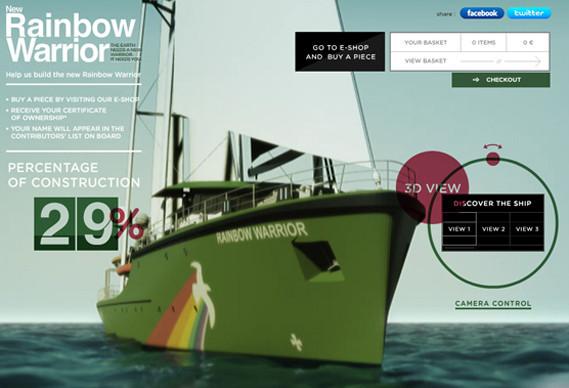 Прекрасные работы для Greenpeace, Yota, Nike, VW — Реклама на Look At Me